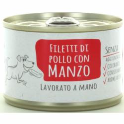 ADOC DOG DI POLLO CON MANZO...